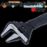 Ключ розвідний з тонкими губами 165мм, 0-34мм CrV Ultra (4100112), фото 2