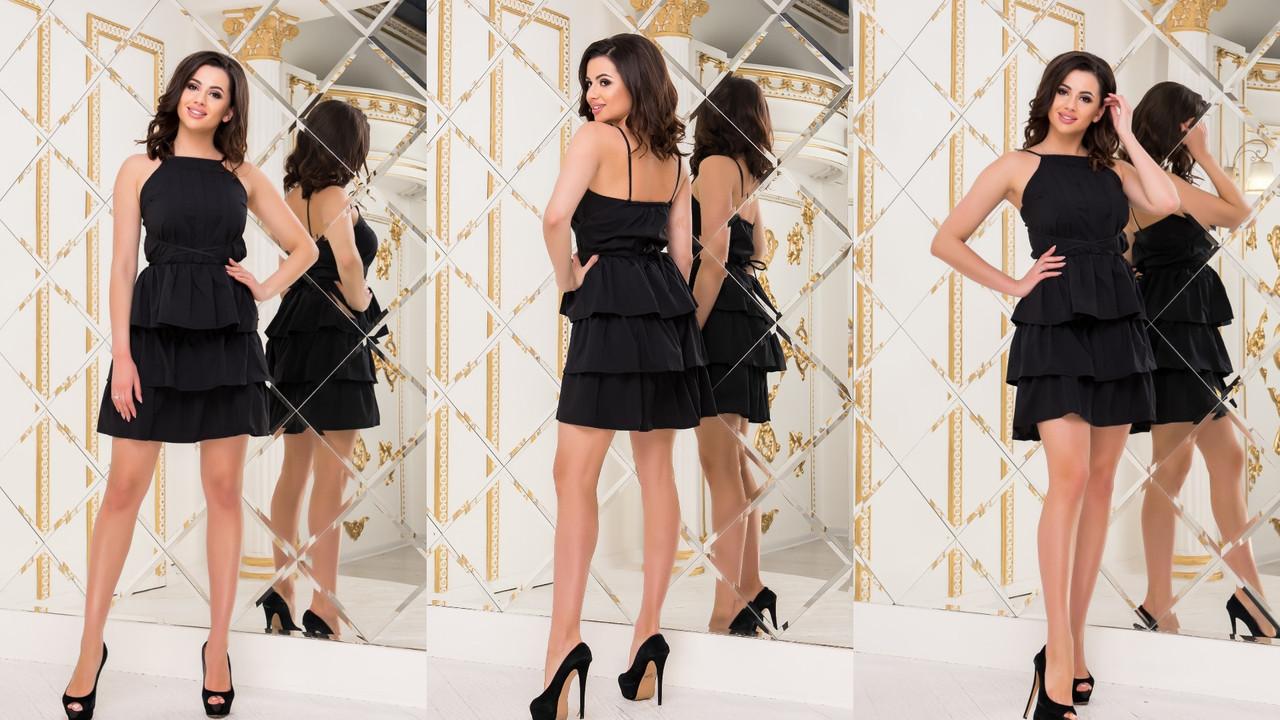Женское стильное платье  РО3096
