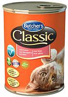 Консерва с дичью для кошек Butchers Cat Classic with Game