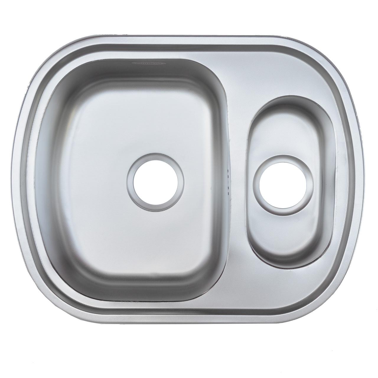 Мийка кухонна Platinum 6349D Decor 0,8 мм