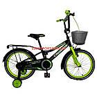 Детский велосипед Crosser Rocky 18 дюймов черно-желтый, фото 2