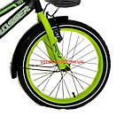 Детский велосипед Crosser Rocky 18 дюймов черно-желтый, фото 4
