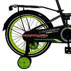 Детский велосипед Crosser Rocky 18 дюймов черно-желтый, фото 6