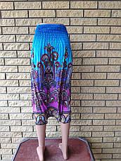 Юбка-сарафан летняя ткань масло MING, фото 2