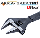 Ключ розвідний з тонкими губами 215мм, 0-39мм CrV Ultra (4100122), фото 2