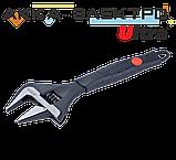 Ключ розвідний з тонкими губами 215мм, 0-39мм CrV Ultra (4100122), фото 3
