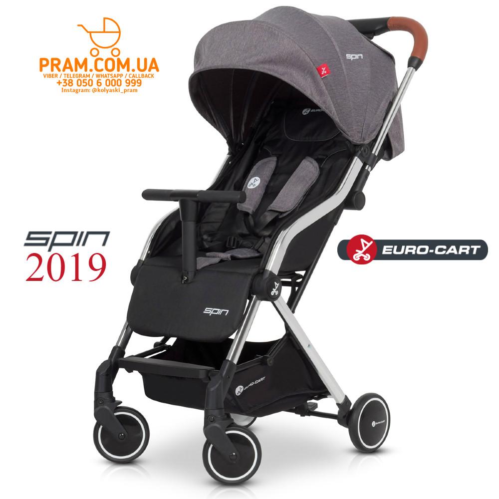 EURO-CART SPIN 2019 прогулочная коляска Anthracite Темно-серый