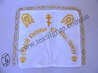 Ритуальная Наволочка Шёлк с печатью  № 54