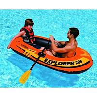 Детская надувная лодка EXPLORER 200 (58330)