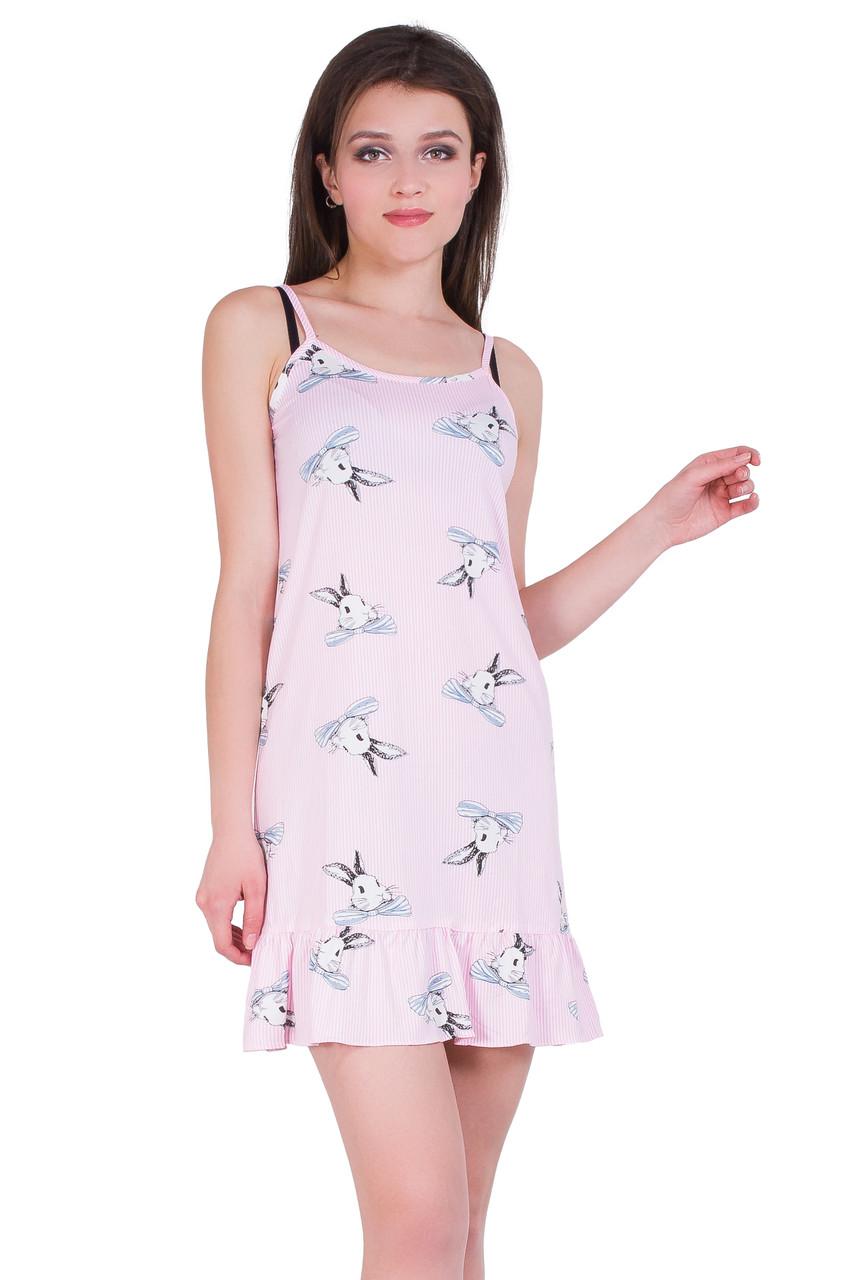 Молодежная ночная рубашка 19009-6