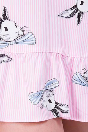 Молодежная ночная рубашка 19009-6, фото 3
