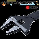 Ключ розвідний з тонкими губами 255мм, 0-50мм CrV Ultra (4100132), фото 3