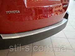 Накладка на задний бампер TOYOTA RAV 4 (2012-2018)