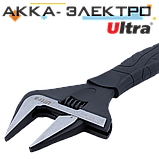 Ключ розвідний з тонкими губами 310мм, 0-60мм CrV Ultra (4100142), фото 3