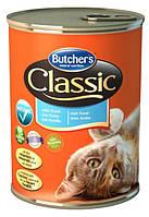 Консерва с форелью для кошек Butchers Cat Classic with Forel