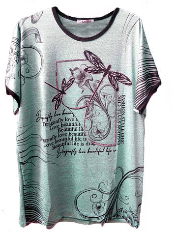 "Женская футболка ""Виктория"", фото 2"