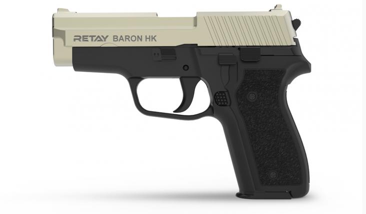 Пистолет стартовый Retay Baron HK 9 мм, фото 2
