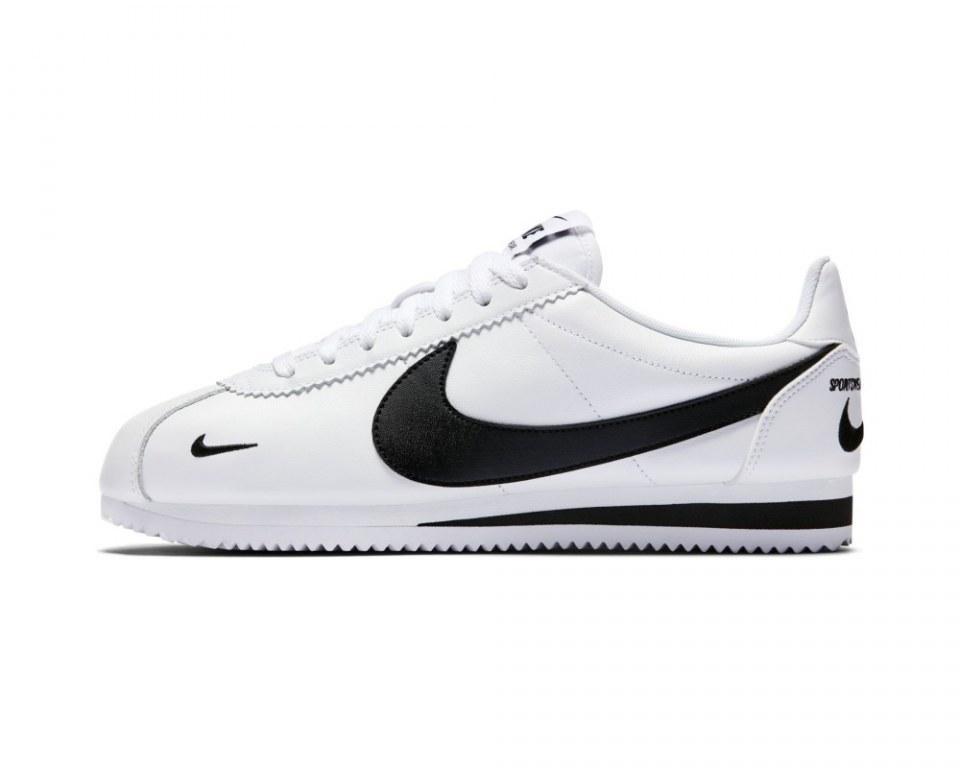 "Кроссовки Nike Classic Cortez Premium ""White/Black"" Арт. 4089"