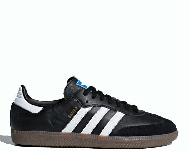 "Кроссовки Adidas Samba OG ""Core Black/Cloud White/Gum"" Арт. 3938"
