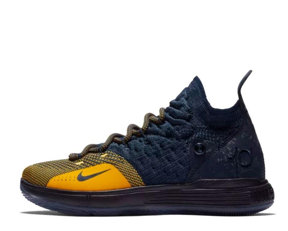 "Баскетбольные кроссовки Nike KD 11 ""College Navy/University Gold"" Арт. 3928"