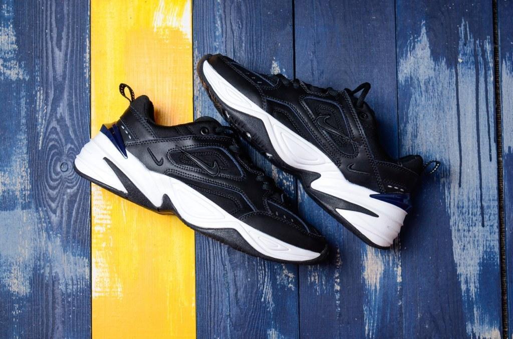 "Кроссовки Nike M2K Tekno ""Black/Blue"" Арт. 3887"