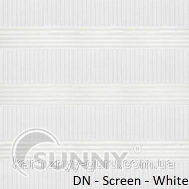 Рулонные шторы для окон Sunny в системе День Ночь, ткань  DN-Screen