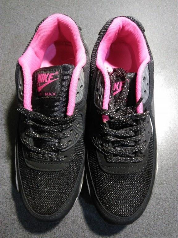 "Кроссовки Nike Air Max 90 GS ""Black"" Арт. 1119 (Брак)"