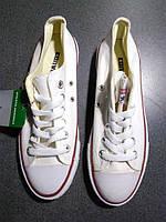 """Кеды Converse All Star Low """"White"""" Арт. 0327 (Брак)"""