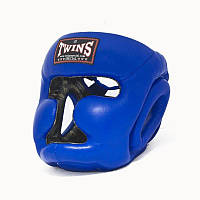 Шлем боксерский (с полной защитой) кожа TWINS HGL-3