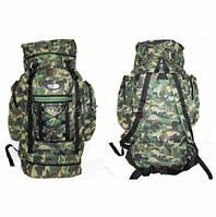 Рюкзак туристический камуфляжный,охота,рыбалка,пикник,для отдыха хаки 80 литров Ding zhi большой