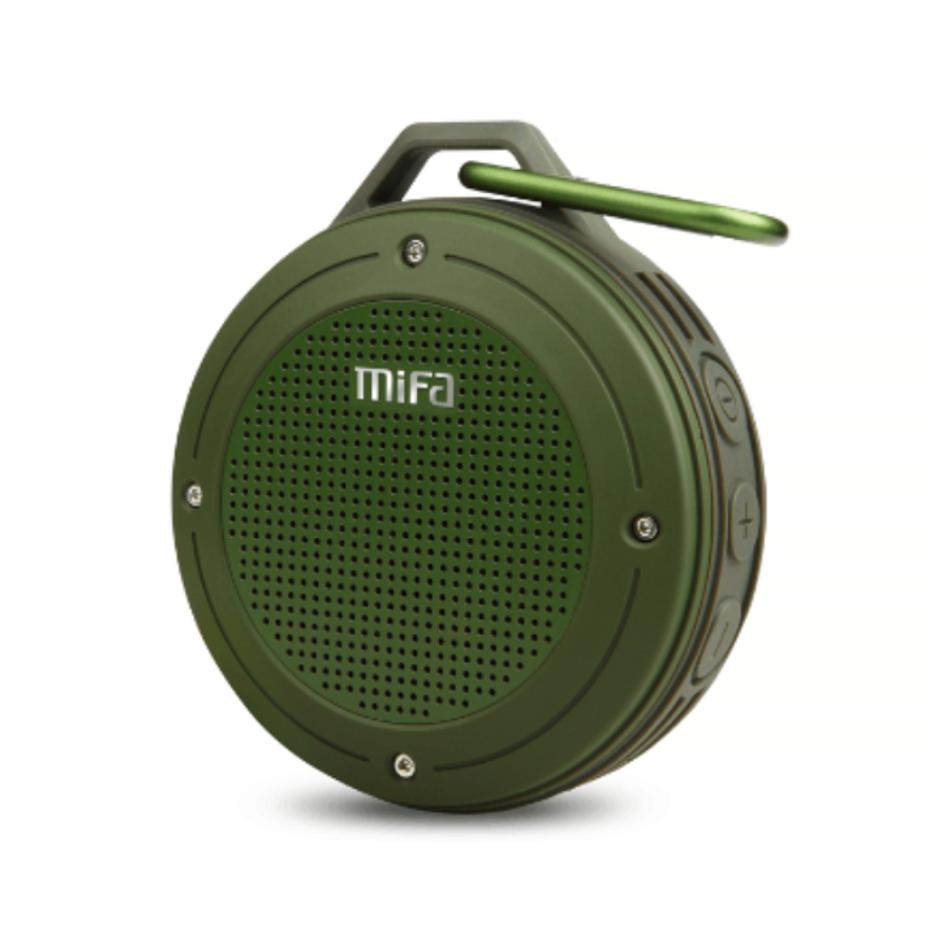 Портативна Bluetooth колонка Mifa F10 Green водонепроникна