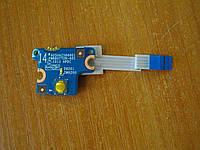 Плата с кнопкой включения 6050A2566601 HP ProBook 640 G1 бу