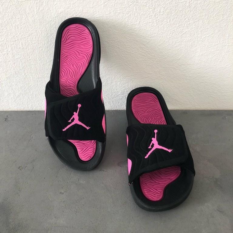 """Шлепанцы Air Jordan Hydro """"Black/Pink"""" Арт. 2838"""