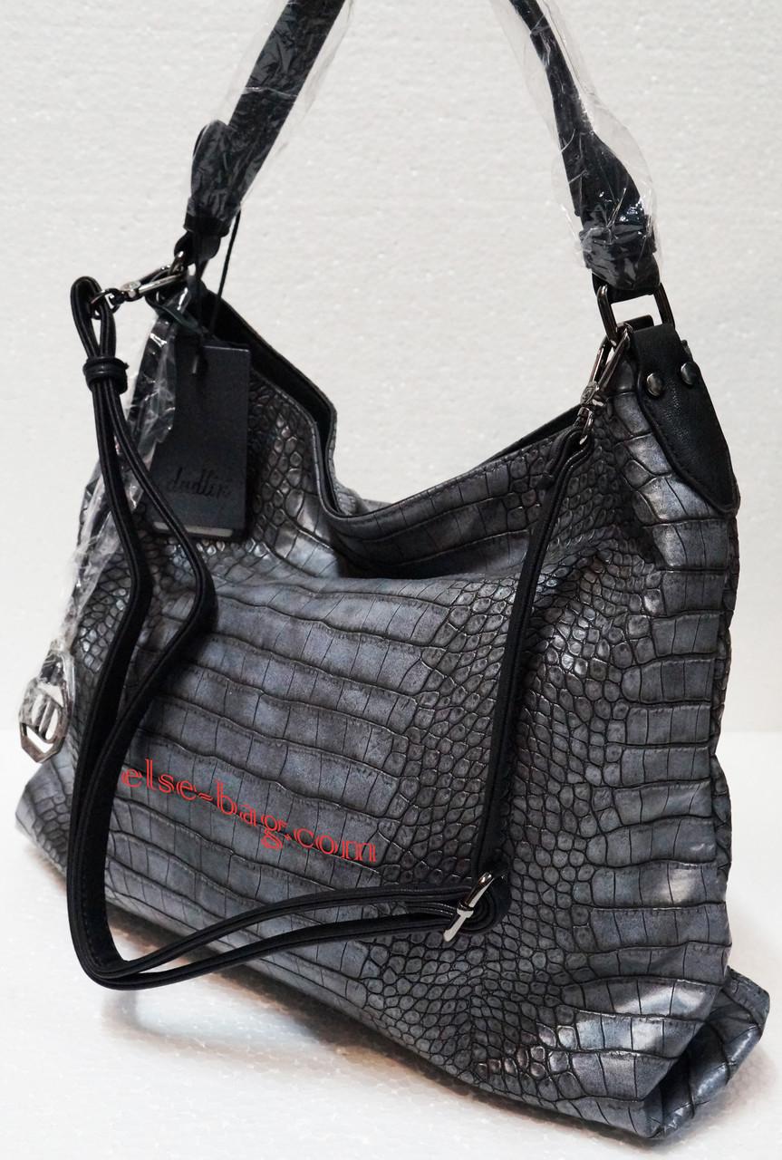 Мягкая сумка под крокодил