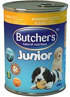 Консерва для щенков Butchers Junior Chicken - кусочки курицы в желе