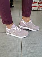 Подростковые замшевые кроссовки для девочки BADEN, фото 1