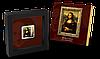Мона Ліза ~ Шедеври Ренесансу ~ Срібна монета з позолотою у рамці