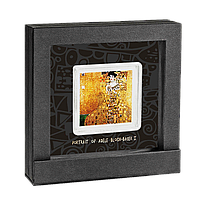 Портрет Аделі Блох-Бауер ~ Густав Клімт ~ Найдорожчі картини світу ~ Срібна монета в рамці