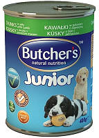 Консерва для щенков Butchers Junior Lamb - кусочки ягненка в желе