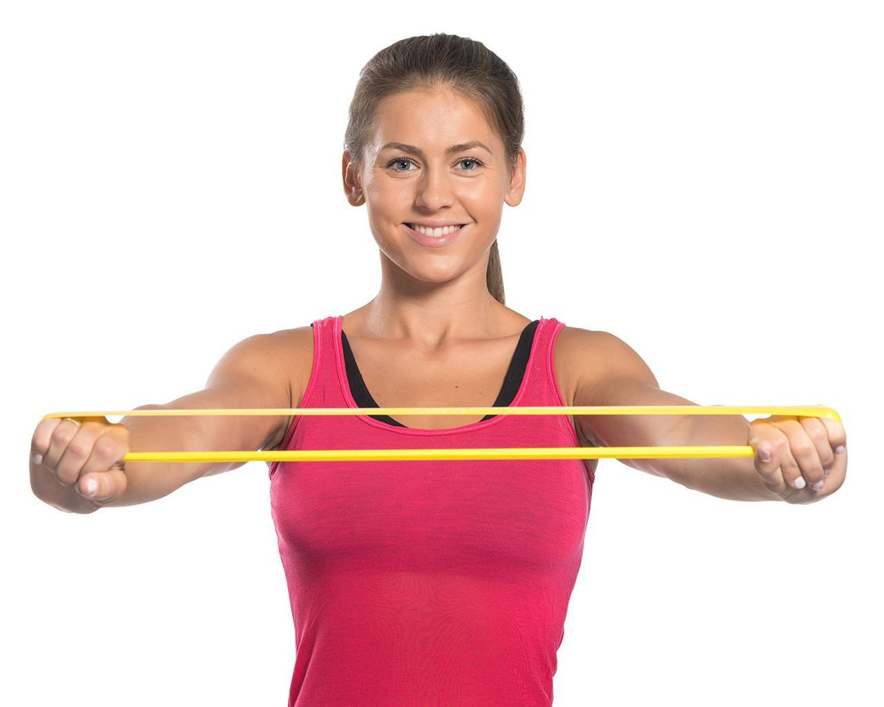 Резинка для фитнеса и спорта (лента эспандер) эластичная (FI-6410-V)