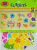 Баннер-комплект Цветы Гибискус 3501-3063