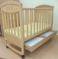 Детская кроватка Соня ЛД 4 Зайка
