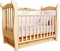 Детская кроватка Соня ЛД 15 маятник