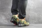 Мужские кроссовки Adidas Yung (темно-зеленые), фото 4