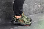 Мужские кроссовки Adidas Yung (темно-зеленые), фото 5