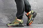 Мужские кроссовки Adidas Yung (темно-зеленые), фото 6