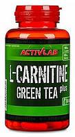 Жиросжигатель карнитин для похудения ActivLab L-Carnitine + Green Tea 60 капсул