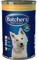 Консерва с курицей и рисом для собак Butchers Basic Chicken and Rice