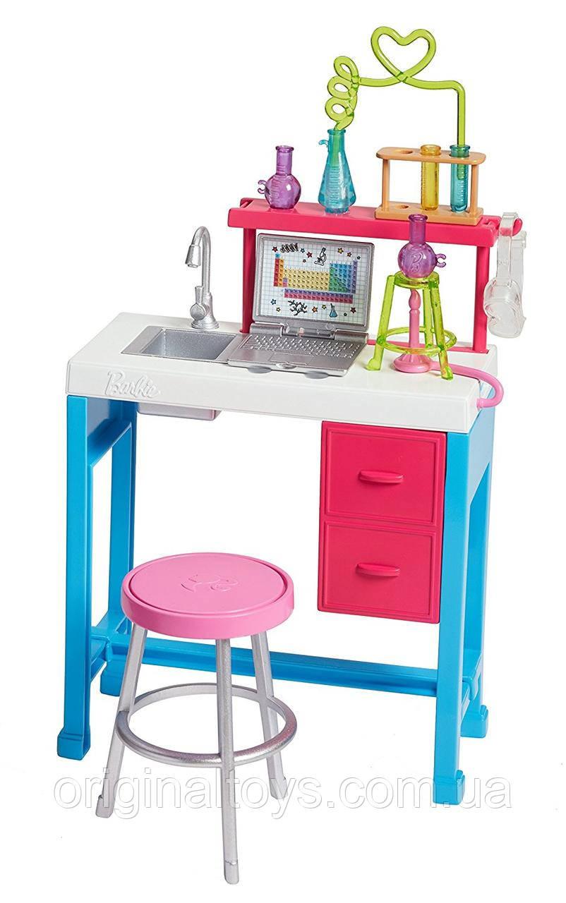 Набор Барби Научная лаборатория Barbie Science Lab You can be Mattel FJB28