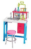 Набор Барби Научная лаборатория Barbie Science Lab You can be Mattel FJB28, фото 1